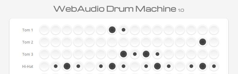 Free online drum machines.