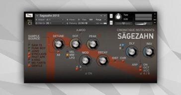 Sagezahn 2015 by Cinematique Instruments.