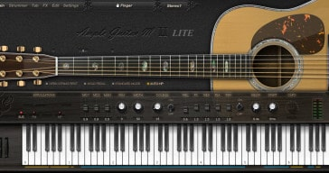 Free Ample Guitar M Lite II acoustic guitar VSTi plugin by Ample Sound.