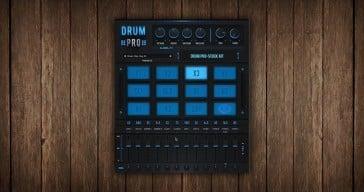 Drum Pro free drum machine VSTi plugin by StudioLinkedVST.