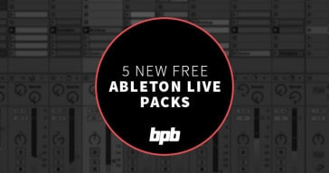5 FREE Ableton Live Packs to inspire you this week!
