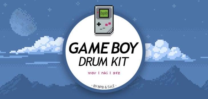 Game Boy Drum Kit free 8-bit sample pack (WAV/NKI/SFZ)