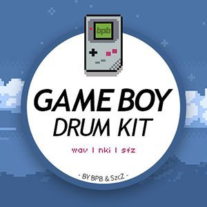 Game Boy Drum Kit (Free Sample Pack)
