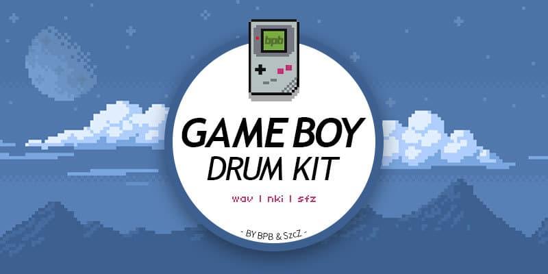 Game Boy Drum Kit - Kontakt & SFZ (Free Sample Pack)