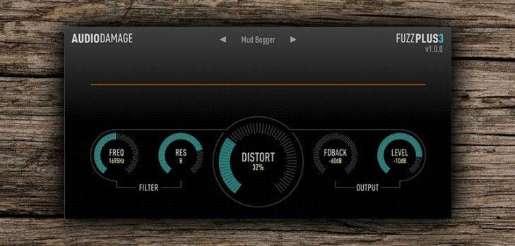 uzzPlus 3 free distortion VST/AU plugin by Audio Damage.