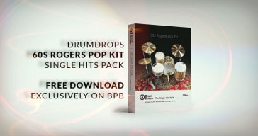 Drumdrops 60s Rogers Pop Kit FREE DOWNLOAD.