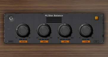 Free M/Ster Balance VST plugin by Ourafilmes.