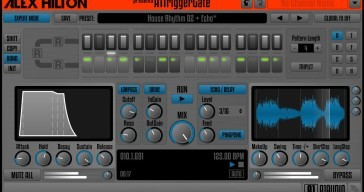 A1TriggerGate is a freeware trance gate VST/AU/RTAS/AAX plugin by A1AUDIO.