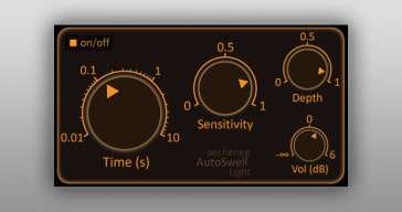Free AutoSwell Light VST/AU plugin by Pecheneg Audio FX.