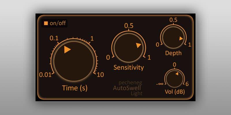 AutoSwell Light - Free Automatic Volume Pedal VST/AU Plugin - Bedroom Producers Blog