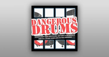 It's Dangerous Drums free drum pack by Marco Scherer.
