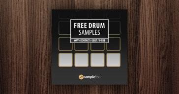 Free drum samples by Samplefino.