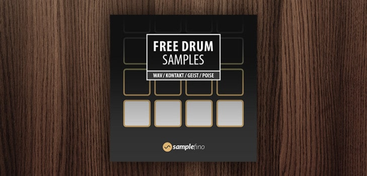Free drum samples by Samplefino.