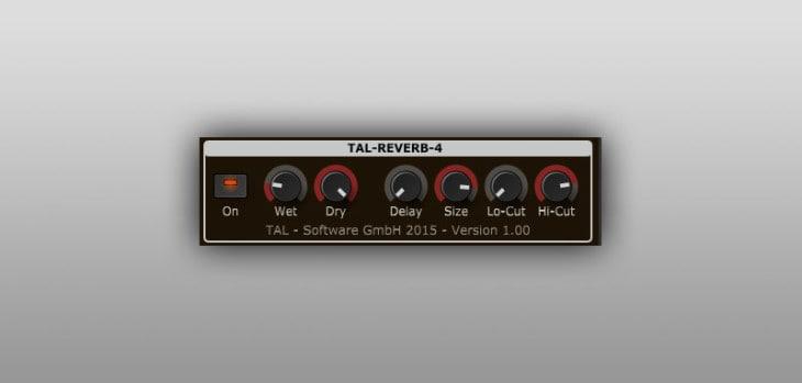 TAL-Reverb-4 FREE VST/AU/AAX reverb plugin by Togu Audio Line.