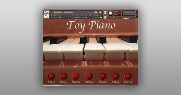 Free Toy Piano sample library by Particular-Sound.