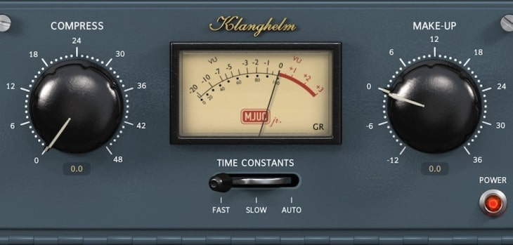 MJUCjr - FREE Variable-Tube Compressor VST/AU Plugin By Klanghelm!