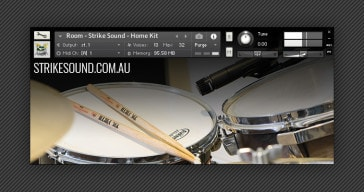 FREE Home Kit drum sample collection by Strike Sound.