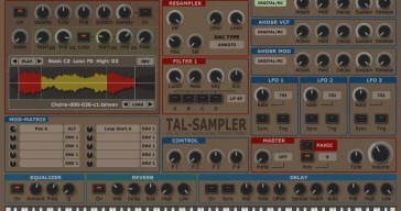 TAL-Sampler by Togu Audio Line REVIEW