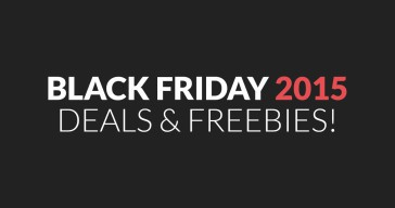 Black Friday Deals & Freebies Round-Up 2015