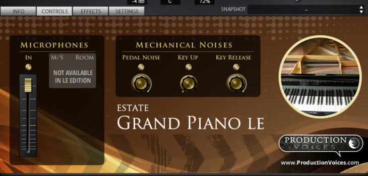 Free Estate Grand Piano SFZ Library By Production Voices!