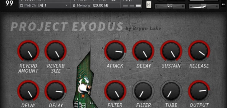 Free Cinematic Kontakt Library By Bryan Lake (Project Exodus)