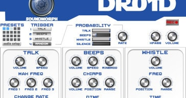 Free R2D2 SFX Generator Released By SoundMorph