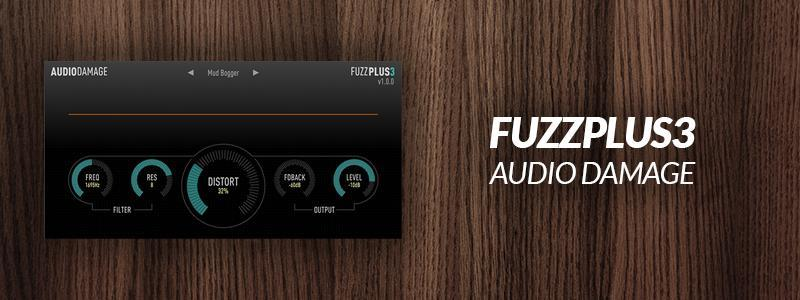 FuzzPlus 3 by Audio Damage.