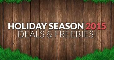 Holiday Season Deals & Freebies 2015!