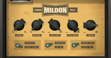 Mildon Strummer 3 VST Plugin Is Now Freeware!