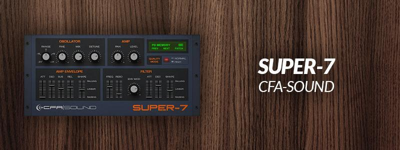 SUPER-7 by CFA-Sound.