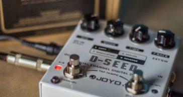 Joyo D-SEED Guitar Delay Review