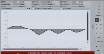 FREE MWaveFolder Distortion VST/AU/AAX plugin by MeldaProduction.