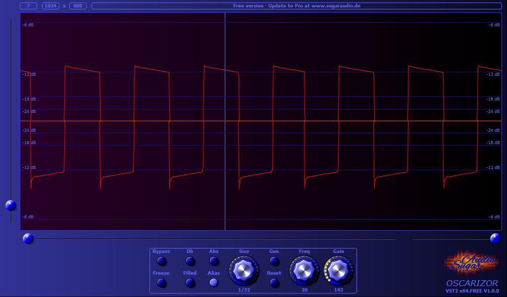 Sugar Audio's Free Oscarizor Oscilloscope VST/AU Plugin!