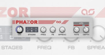 Free Phazor VST/AU plugin by Adam Szabo!