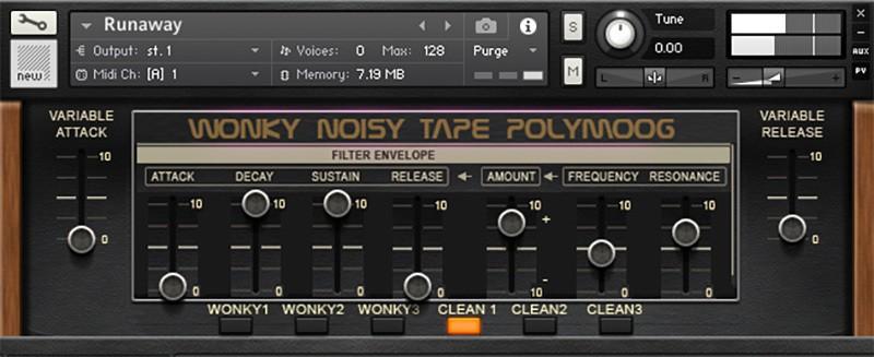 SynthMagic's Free Wonky Tape PolyMoog For NI Kontakt | BPB