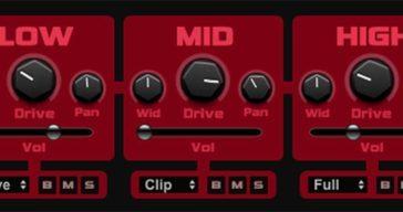 FREE HY-MBDrive Multi-Band Distortion VST Plugin