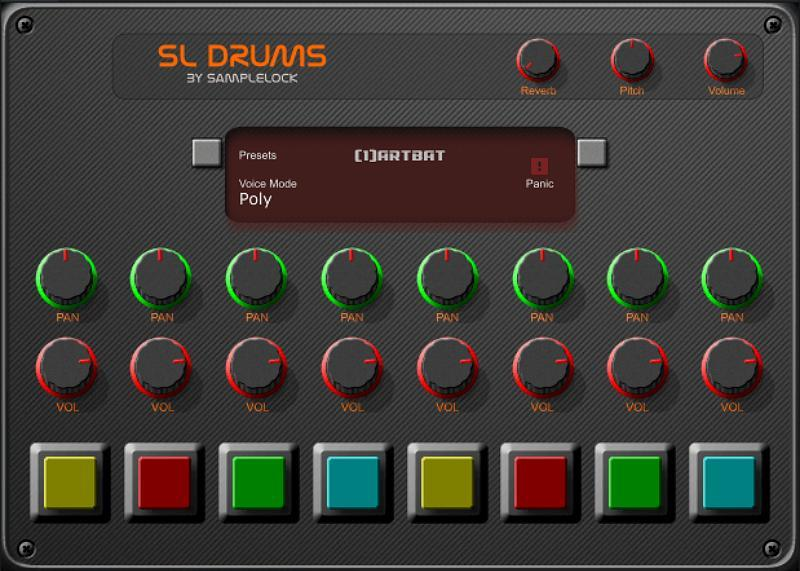 samplelock releases free sl drums drum machine vst plugin bedroom producers blog. Black Bedroom Furniture Sets. Home Design Ideas