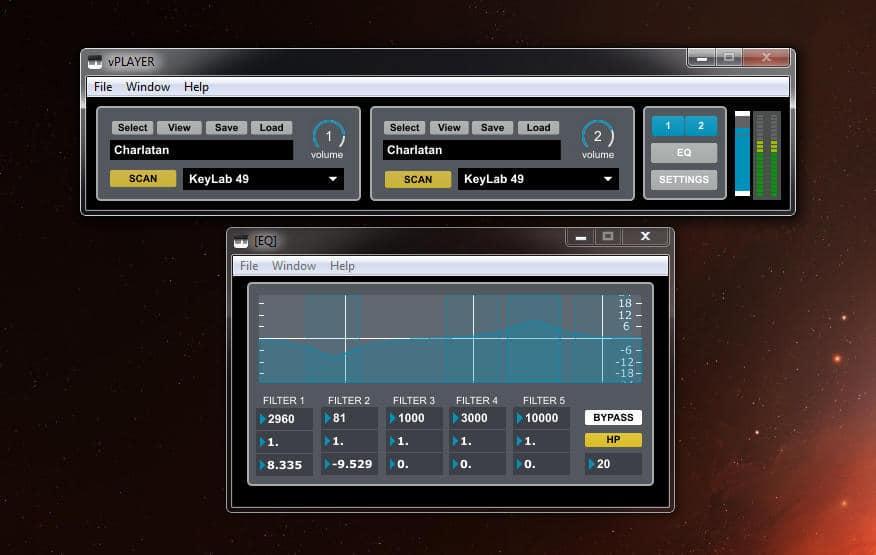 Free vPlayer VST/AU Plugin Host By Digital Brain Instruments