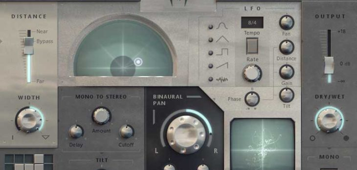 Free Panagement Binaural Panner VST/AU Plugin by Auburn Sounds