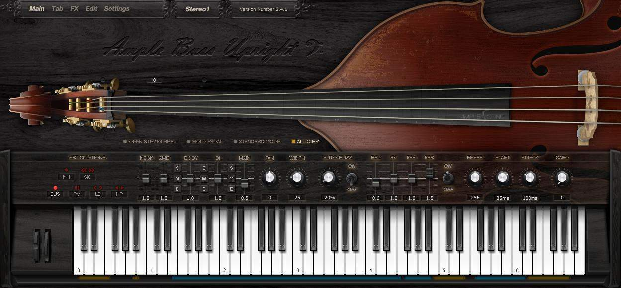Ample Bass Upright II Review - Bedroom Producers Blog
