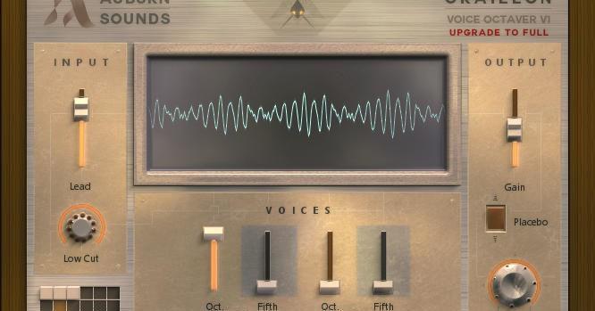 Free Graillon Octaver VST/AU Plugin by Auburn Sounds.