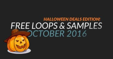 Free Samples & Loops Halloween Edition (October 2016)