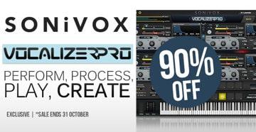 Get 90% OFF SONiVOX Vocalizer Pro @ Pluginboutique!