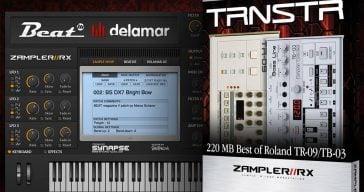 Beat Releases Free TRNSTR Sample Pack For Zampler RX