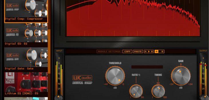 Free T-Chain Modular Channel Strip VST/AU Plugin by LVC-Audio