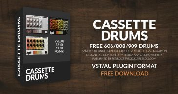 Cassette Drums (Free Drum VST/AU Plugin)