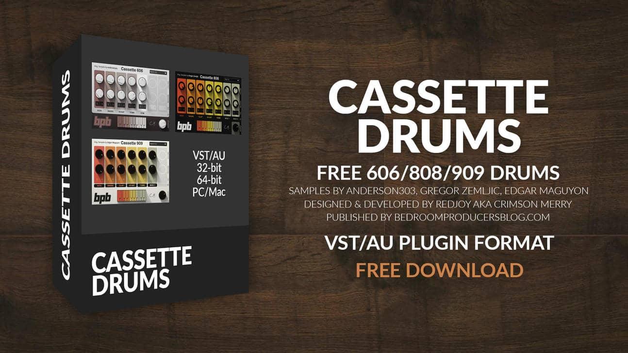 Cassette Drums (Free Drum VST/AU Plugin)