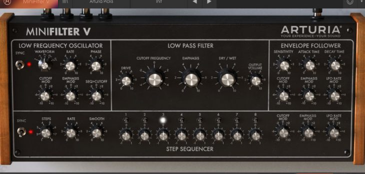 Download Arturia MiniFilter V For FREE (Offer Ends December 25th)