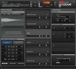 Grooove BPB (Sample Editor)