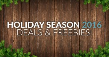 Holiday Season 2016 Deals & FREE Stuff Round-Up
